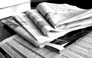 journal en papier