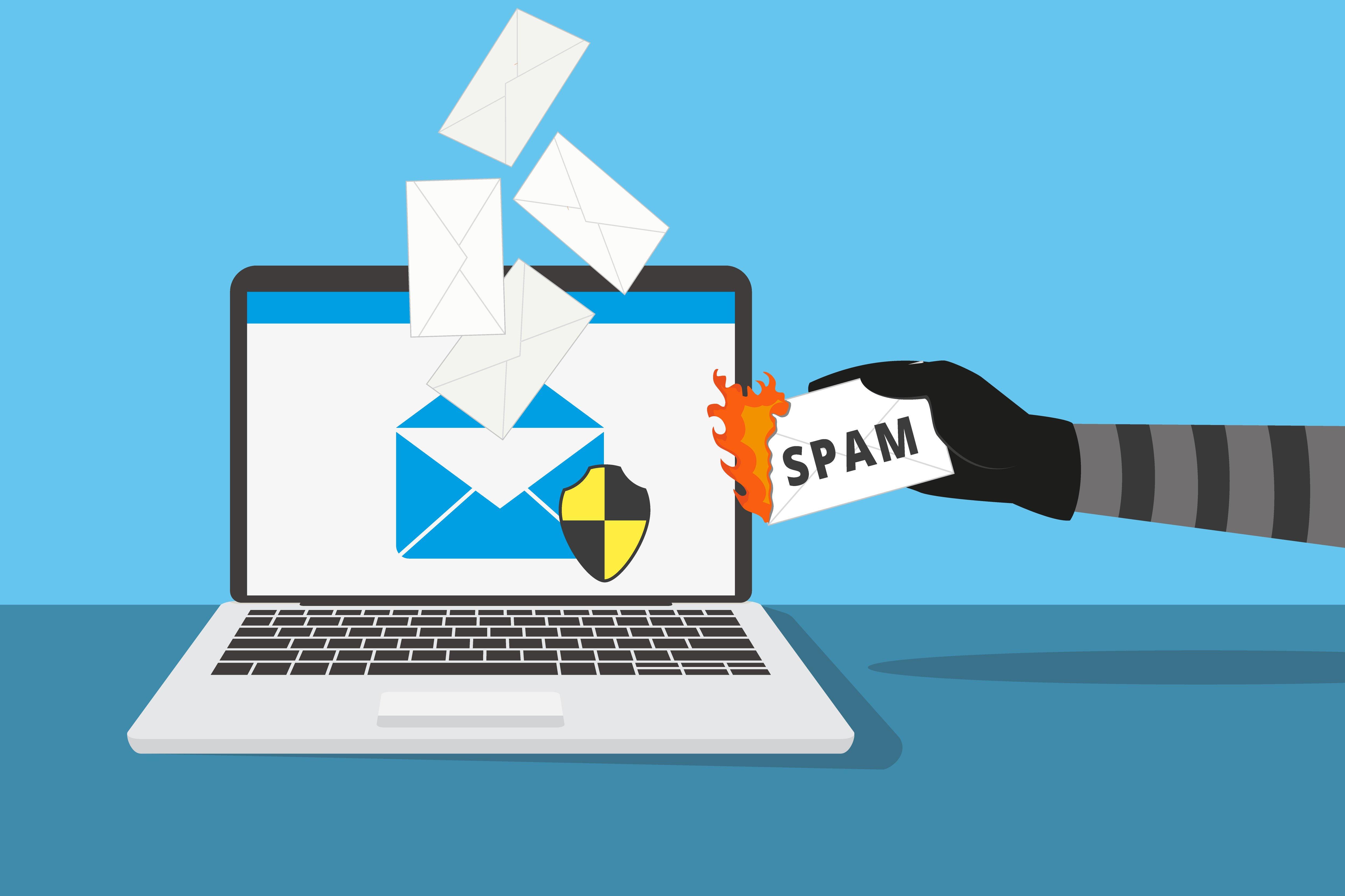 Se protéger du spam dans ses e-mails