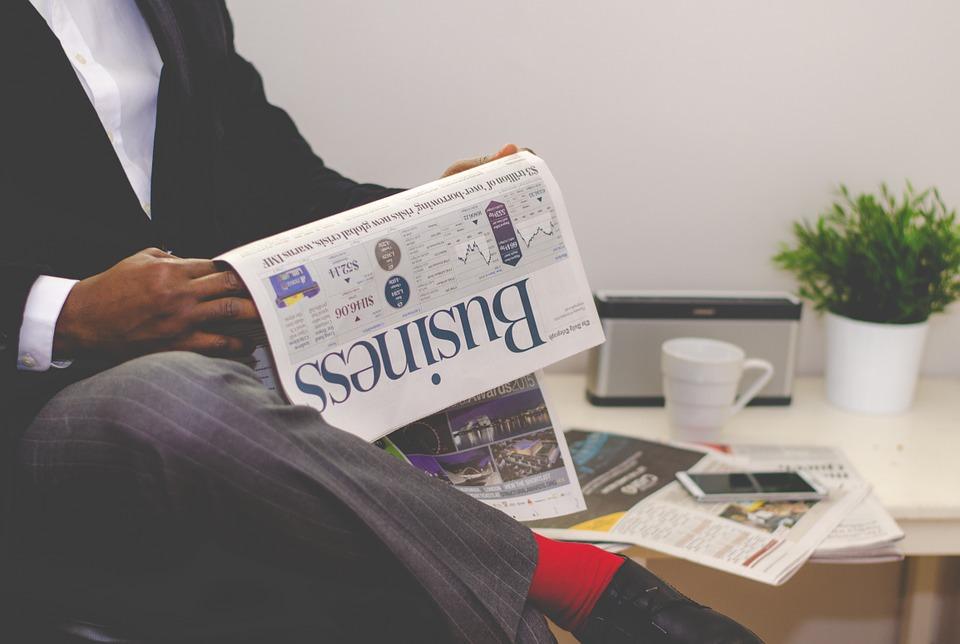 Le journal en papier en déclin