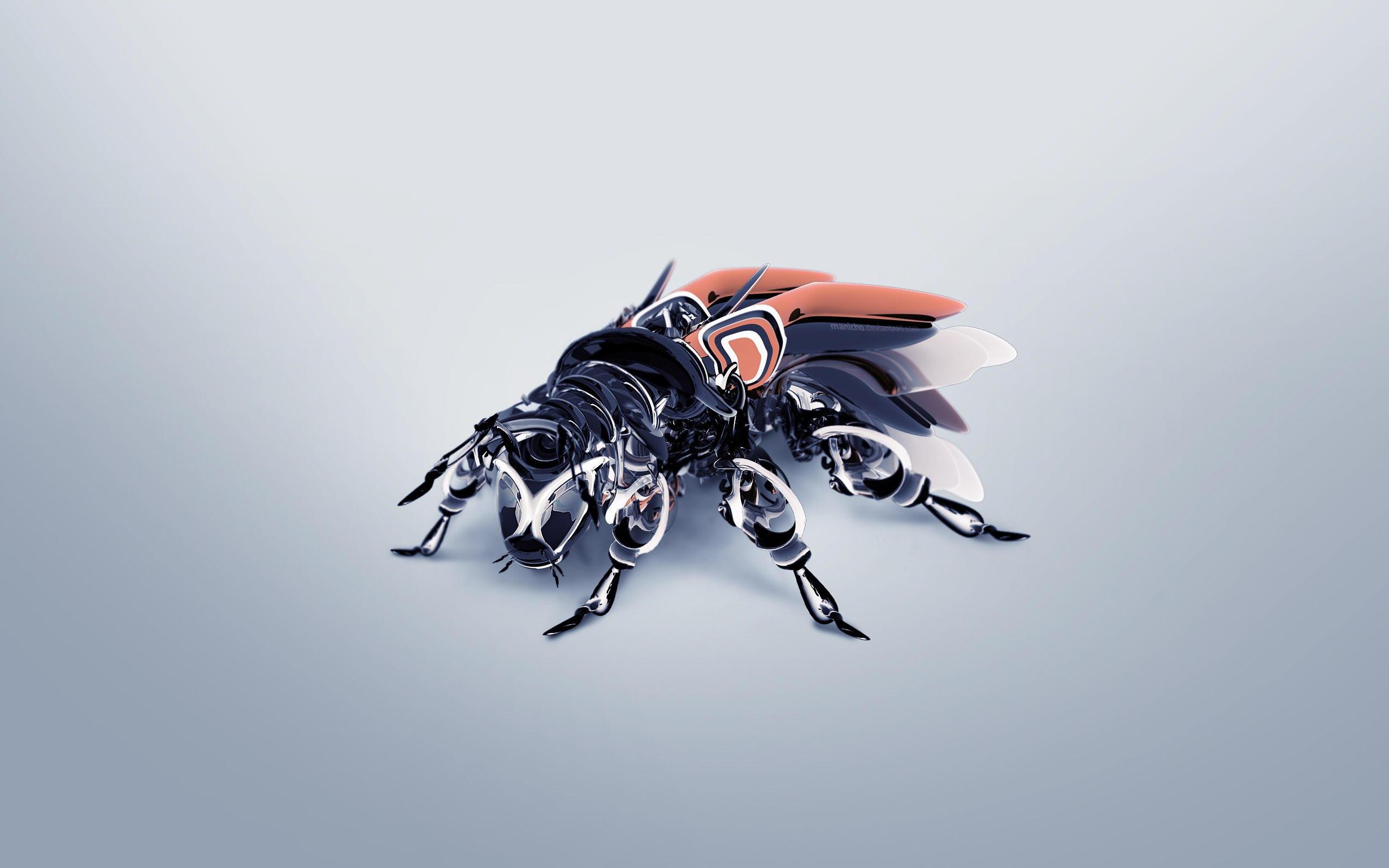 On va remplacer les abeilles par des robots