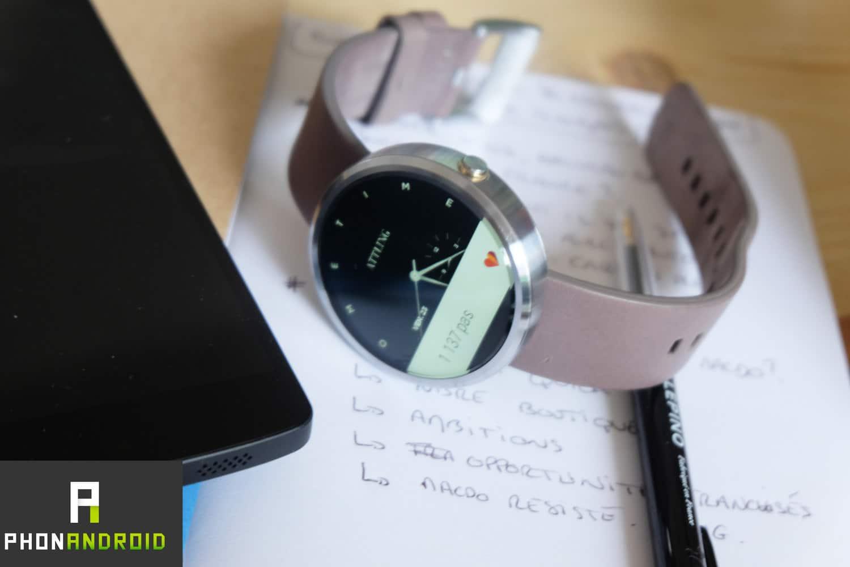 Une montre connectée en vue de rester en bonne santé