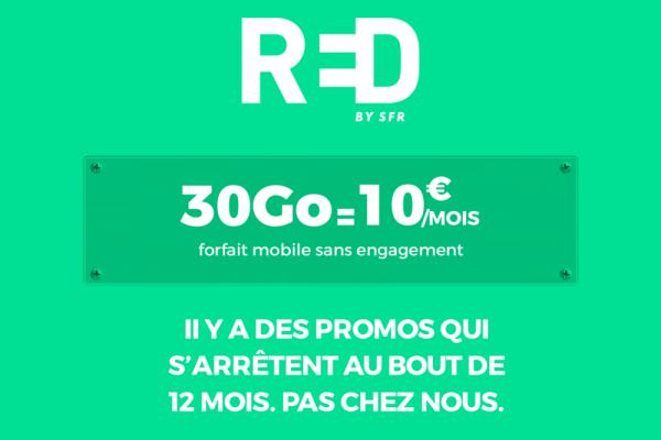 L'offre RED by SFR : le meilleur des forfaits mobiles et internet en France